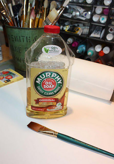 Murphy Soap Oil saves the Brush