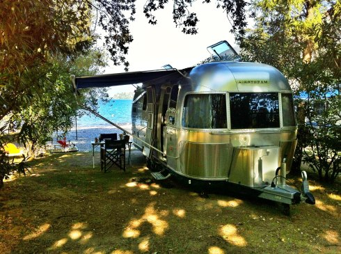 Airstream how close to waters edge