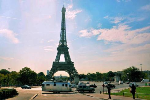 Airstream in Paris