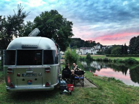 Airstream Morning in Germany