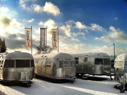 Airstream stay warm together